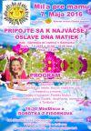 Pozvánka: Deň matiek - Míľa pre mamu
