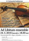 Ad Libitum ensemble - 41. ročník Kežmarskej hudobnej jari