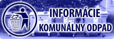Informácie - komunálny odpad