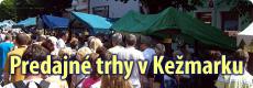 Predajné trhy v Kežmarku